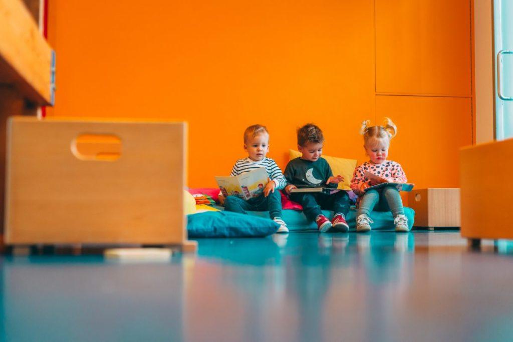 Kindjes-speelkamer